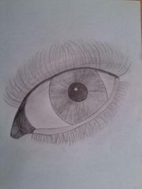 Auge skizze, Zeichnungen