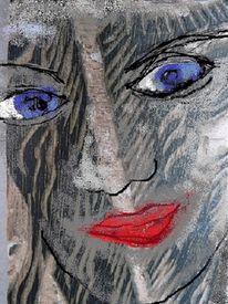 Portrait, Struktur, Deutung, Druckstock