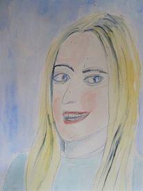 Gesicht, Frau, Portrait, Kopf