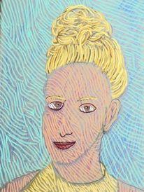 Gesicht, Blond, Menschen, Portrait