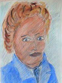 Menschen, Portrait, Findling, Rückkehr 2028