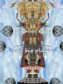 Nürnberg 2025, Spieler, Bewerbung, Kulturhauptstadt