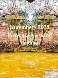 Farben, Stadtmauer, Botschaft, Fluss