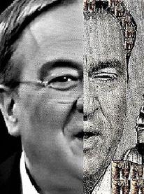 Mann, Portrait, Politiker, Tandem