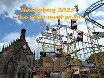 Botschaft, Nürnberg 2025, Show, Bewerbung