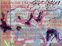 These 1, Text, Entmündigung der künstler, Fotografie