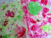 Blätter, Blumen, Blüte, Malerei