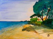 Hawaii, Meer, Urlaub, Strand