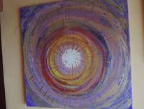 Acrylmalerei, Meditation, Moderne malerei, Abstrakte kunst