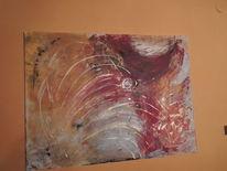 Traum, Farben, Einladen, Malerei
