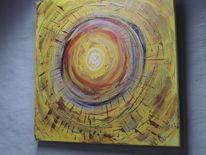 Moderne kunst, Energie, Gold, Licht