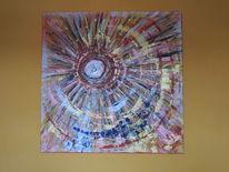 Licht, Gewaltig, Acrylmalerei, Moderne malerei