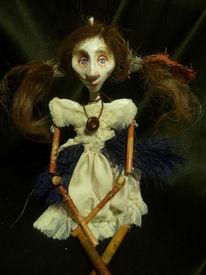 Marionette, Puppe, Skurril, Theater