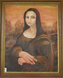 Ähnlichkeit, Mona lisa, Malerei
