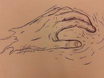 Meine hand, Zeichnungen, Hand