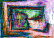 Fantasie, Abstrakt, Hell, Dekoration