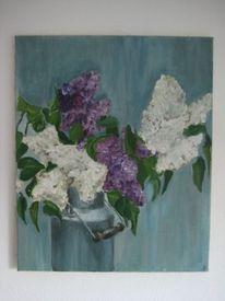 Blumen, Stillleben, Malerei, Pflanzen