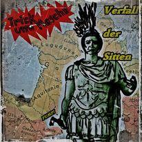 Cd cover, Verfall, Karte, Musik