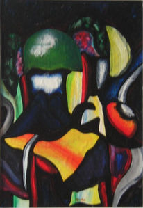 Fantastische kunst, Zeitgenössische kunst, Modern art, Farben