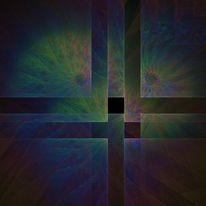 Chaostheorie, Abstrakt, Fraktalkunst, Digitale kunst