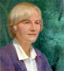 Malerei, Freundin, Portrait