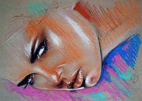 Pastellmalerei, Skizze, Pastellskizze, Zeichnungen