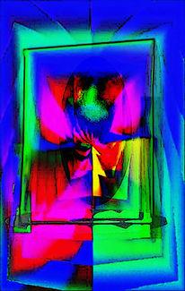 Welt, Bewusstlosigkeit, Einstieg, Digitale kunst