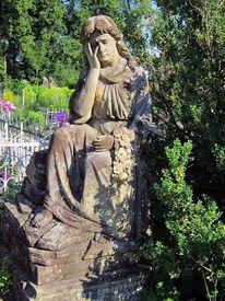 Statue, Frau, Traurigkeit, Fotografie