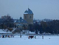 Kirche, Winter, Fotografie
