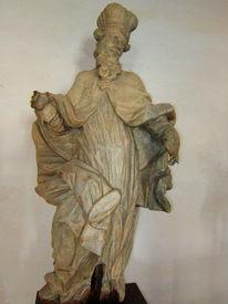 Bischof, Statue, Mittelalterlich, Fotografie