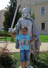 Menschen, Junge, Ritter, Kind