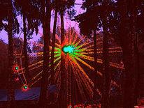 Nacht, Dunkel, Licht, Digitale kunst