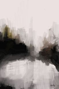 Schwarz, Abstrakte kunst, Digitale kunst