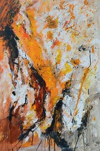 Moderne kunst, Abstrakte kunst, Expressionismus, Grau