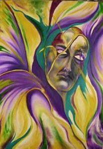 Fantasie, Maskerade, Menschen, Malerei