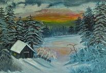Malerei, Morgenrot