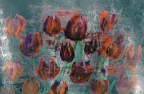 Tulpen, Blumen, Abstrakt, Fell