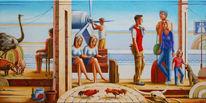 Stadt, Meer, Realismus, Portrait