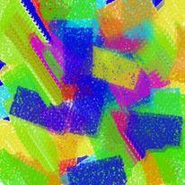 Pastellkreide und stifte, Malerei, Fenster