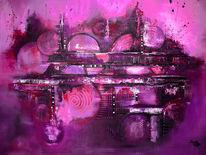 Acrylmalerei, Moderne malerei, Abstrakt, Gemälde