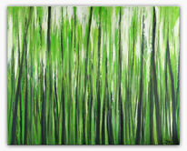 Malen, Wald, Grün, Malerei