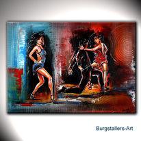 Tanz, Abstrakt, Tänzer, Moderne kunst