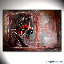 Gemälde, Tanz, Salsa, Malerei