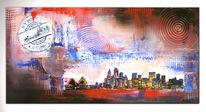 Stadt, Gemälde, Moderne kunst, Sydney