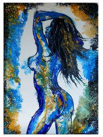 Acrylmalerei, Erotik, Abstrakt, Erotisches gemälde
