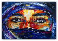 Acrylmalerei, Malen, Spachteltechnik, Gemälde