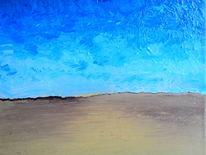 Himmel, Licht, Sand, Malerei