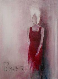 Rot, Malerei, Mädchen, Menschen