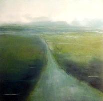 Landschaft, Blau, Wasser, Malerei