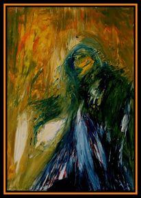 Abstrakt, Malerei, Ölmalerei, Shakespeare
